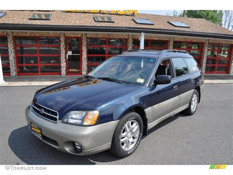 dark blue subaru outback 2000 dark blue pearl subaru outback limited wagon