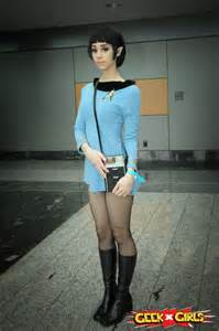 17 Best Images About Female Spock Cosplay On Pinterest