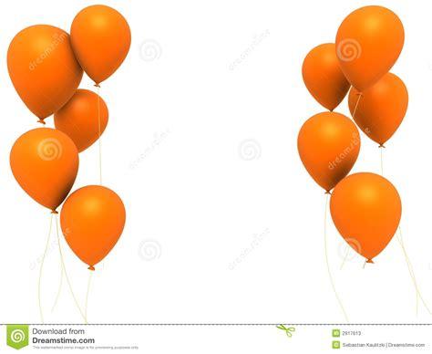 up a balloon with orange orange balloons stock illustration illustration of