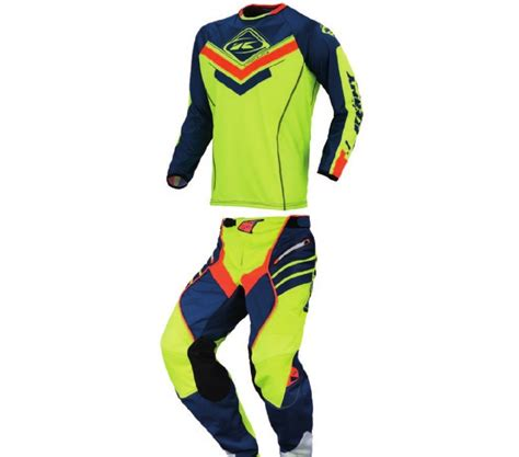 kenny motocross gear kenny racing 2017 titanium motocross kit combo navy neon