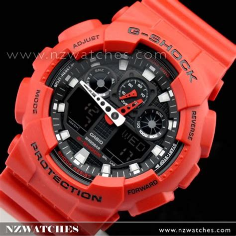 G Shock Ga100b 4a buy casio g shock analog digital ga 100b 4a ga100b buy watches casio nz watches