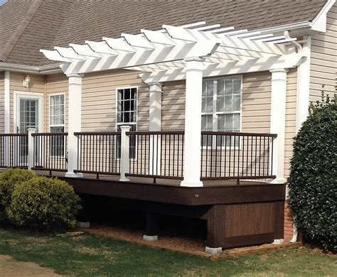 attached pergola designs shaded attached pergola design plans for your home
