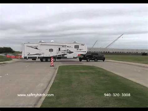 backing the automated safety hitch system youtube