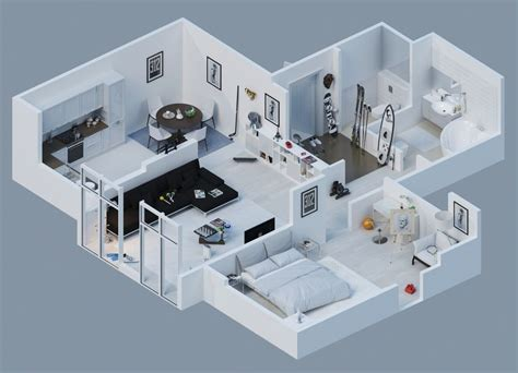 touchmyapps home design 3d cad for the pad 3d floor plan11 architecture 3d floor plan
