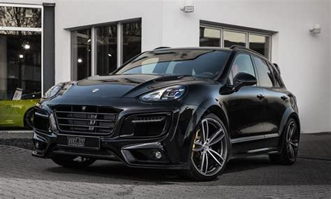 Porsche Macan Magnum by Techart Porsche Cayenne Magnum Looks In Black