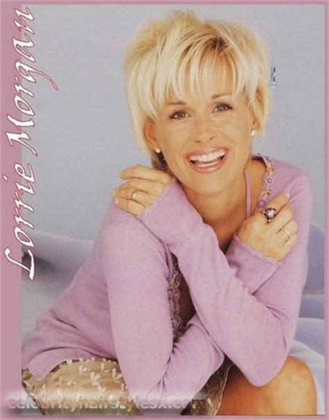 country singer cut hair short lorrie morgan hairstyle 2012 2011 hairdo haircut