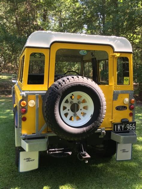 land rover series iii top 1977 yellow for sale
