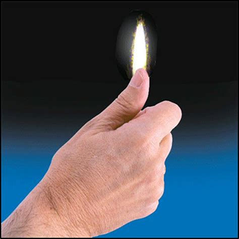 thumb tip flame by vernet trick murphy's magic