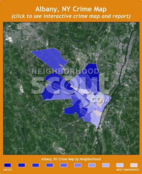 map of new york city crime rates albany ny crime rates and statistics neighborhoodscout