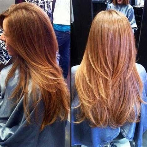 long hairstyles with rounded back best 25 straight layered hair ideas on pinterest long