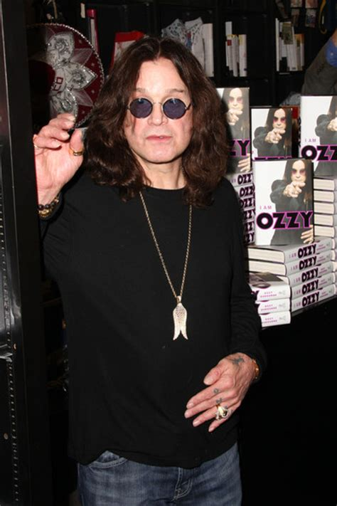Osbourne Signs New Autobiography Osbourne by Ozzy Osbourne In Ozzy Osbourne Signs Copies Of Quot I Am Ozzy