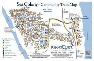 Sanibel Island Vacation Homes - sea colony tram map resortquest real estate