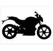 Sports Bike Silhouette Graphics