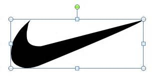 Nike Powerpoint Template by Create A Nike Powerpoint Template Using Shapes
