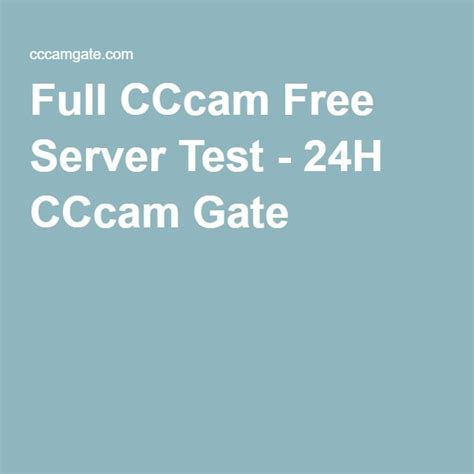 cccam test free cccam free server test 24h cccam gate cccam
