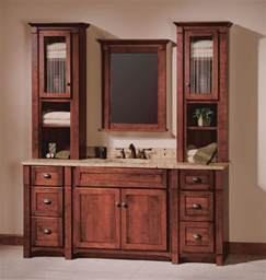 Makeup Vanity With Towers Mission Style Bathroom Mirror Bathroom Vanity With Linen