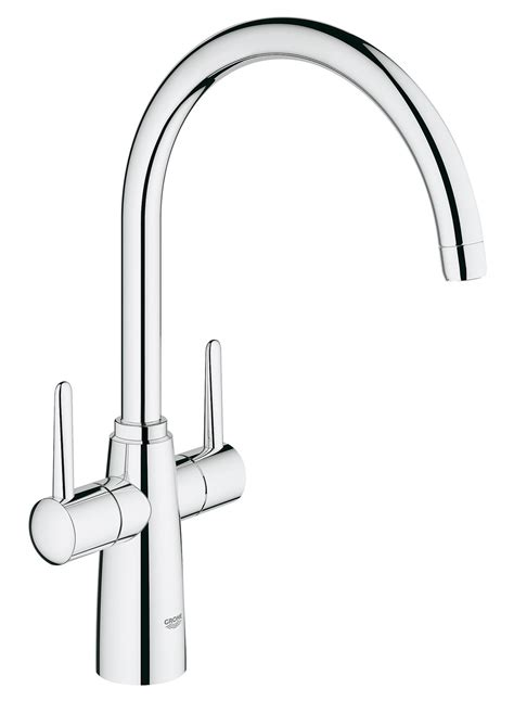 bathroom taps grohe grohe ambi contemporary 2 handle kitchen sink mixer tap