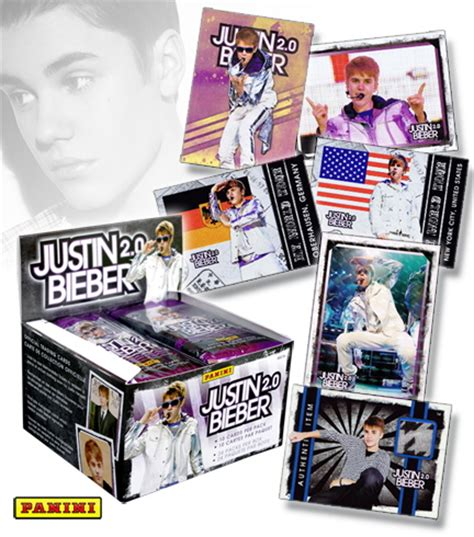 justin bieber 2 0 trading cards by carl braun at coroflot