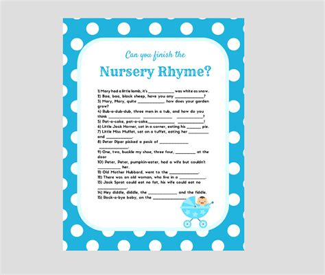 Nursery Rhymes Baby Shower by Nursery Rhyme Baby Shower Baby Shower Ideas