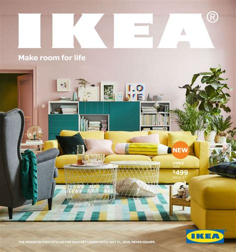 ikea katalog pdf 2018 ikea catalog make room for life decoholic