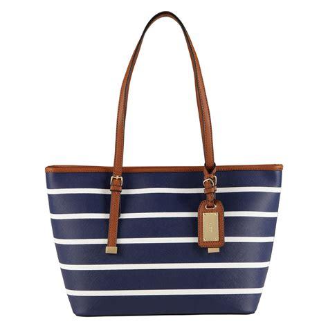 aldo hatchet tote bags in blue lyst