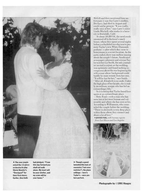Liz Hurleys Wedding Album Bglam by Liz Larry S Wedding Album Weekly 21 Octobre