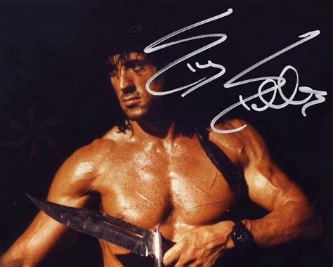 Top Kitchen Knives Brands Rambo Iii Sylvester Stallone Signature Edition 13 Quot Blade