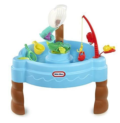 how to play the fish table tikes fish n splash water table water toys