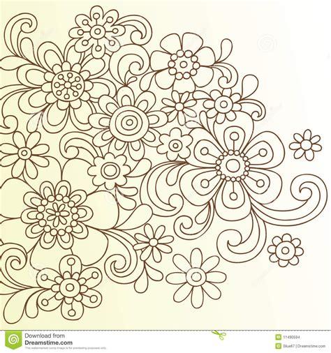 flower doodle free doodle flower wallpaper clipart clipart suggest