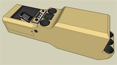jeep custom console going to make a custom center console for my truck wish