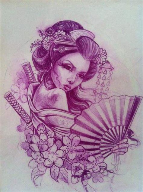 geisha tattoo stencil pin by jedediah dake on nice pinterest geisha tattoo
