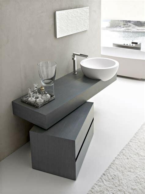 graues waschbecken runde waschbecken im badezimmer die wirklich cool sind