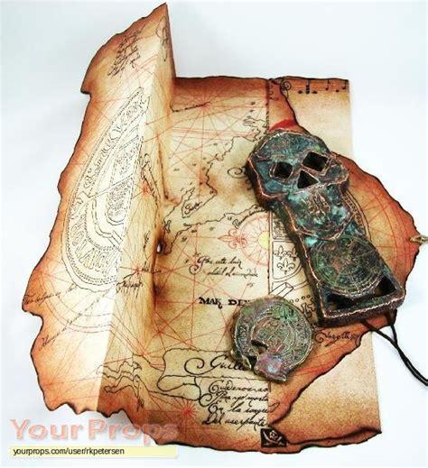 barco pirata goonies the goonies treasure map copper bones key spanish
