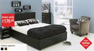 hygena millard ottoman bed with under bed storage single
