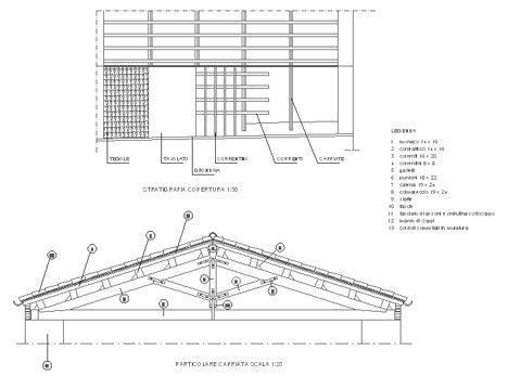 gazebo in legno dwg capriate in legno dwg particolari costruttivi