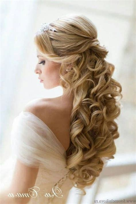 Easy Wedding Hairstyles by Wedding Hairstyles For Hair Half Up Dfemale