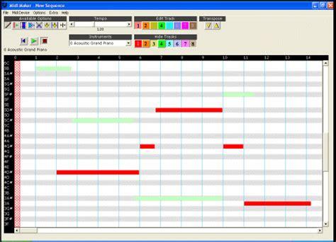 Midi Mumer the range of your song tool midi maker screenshots