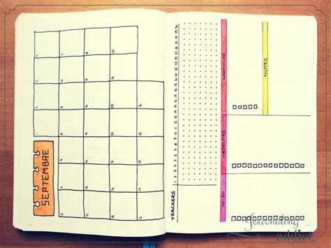 monthly layout bullet journal bullet journal bujo layout display semaine pages