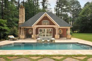 Home Plans With Pools by A New Pool House In North Atlanta
