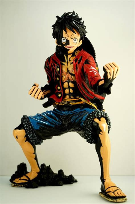 King Of Artist Koa Luffy id9 one king of artist luffy color 26cm