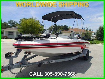 nitro boat cleaner 2003 nitro 188 sport for sale in fort lauderdale florida