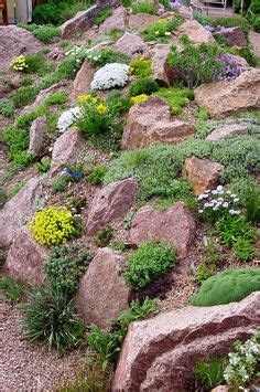 natural steep slope landscaping ideas kleins lawn