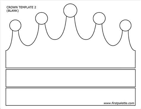 free printable princess crown template prince and princess crowns free printable templates