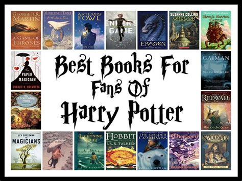 books for harry potter fans the best books for fans of harry potter book scrolling