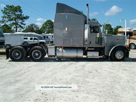 Extended Sleeper Trucks by 2005 Peterbilt 379 Extended