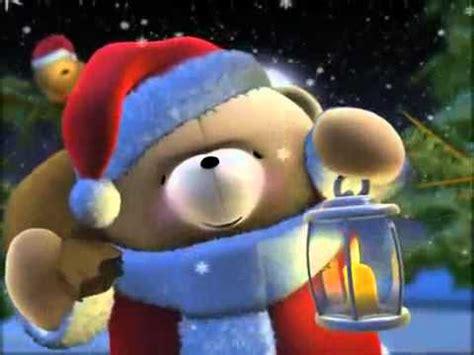 cute christmas bear wishing  merry christmas youtube