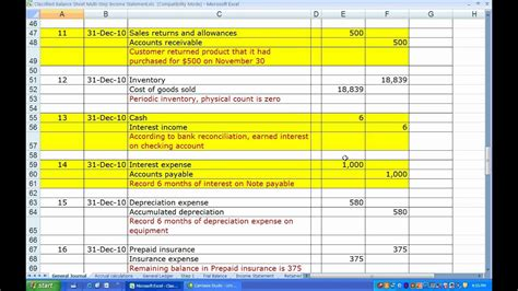 Classified Balance Sheet And Multi Step Income Statement Full Exle Template Maxresde Epaperzone Income Statement And Balance Sheet Template