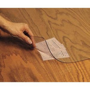 Clear Desk Pad For Wood by Artistic View Clear Desk Pad Aop6071s Shoplet