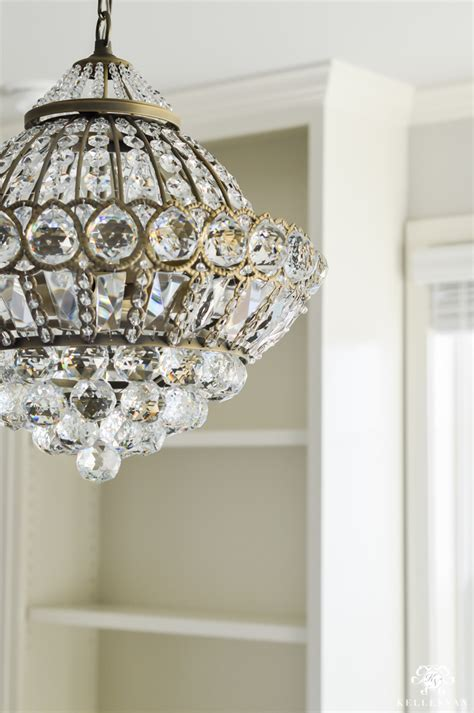 Office Chandelier One Room Challenge Week 3 A Chandelier For The