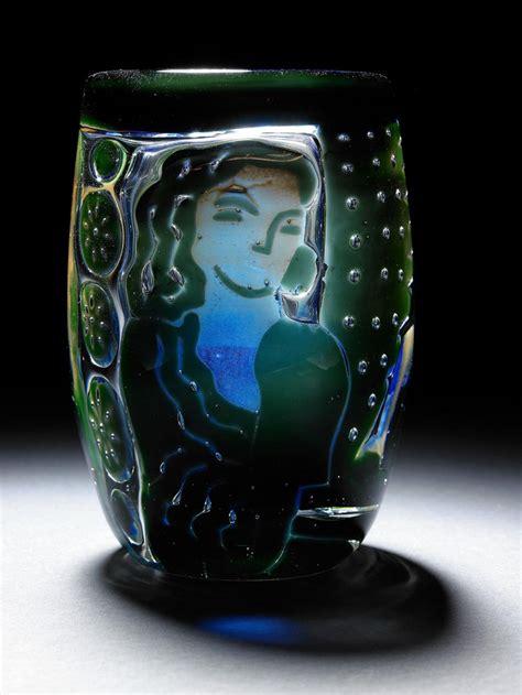 Orrefors Ariel Vase by Edvin 214 Hrstr 246 M 1906 1994 Orrefors Quot Ariel Quot Glass Vase